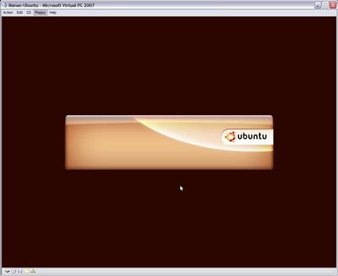Ubuntu Live Start